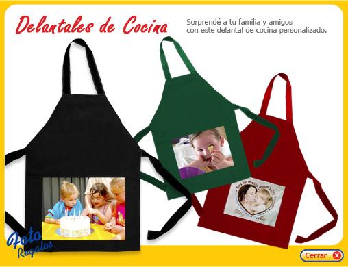 Delantales de cocina con fotos fotoregalos personalizados for Delantales de cocina